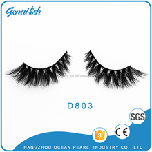 Own Brand Mink Lashes 3D Mink False Eyelashes Long Lasting Lashes Natural Mink Eyelashes 3 pairs of exquisite packaging boxes