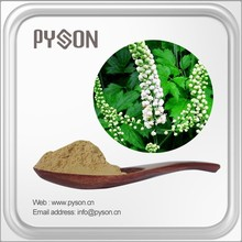 2.5% 5% 8% (HPLC) Triterpenoid Glycosides black cohosh extract