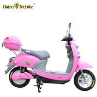 New design adult lithium battery Vespa 1000w electric scooter with pedal bosch motor motorcycle
