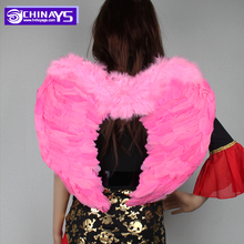 Wholesale Pink Large Feather Angel Wings For Sale