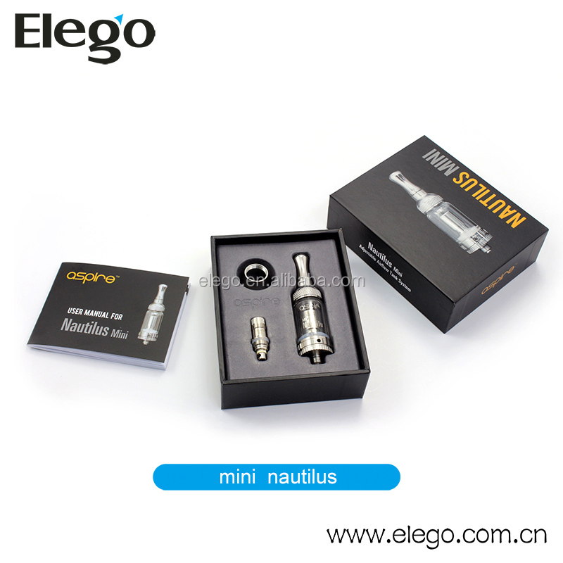 Aspire E Cig Mini Nautilus with Newest BVC Coils and Airflow Control Function