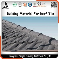Best-selling Building Material Metal Roofing Tiles Stone Coated High Quality color steel coated roof tile For Kenya Market
