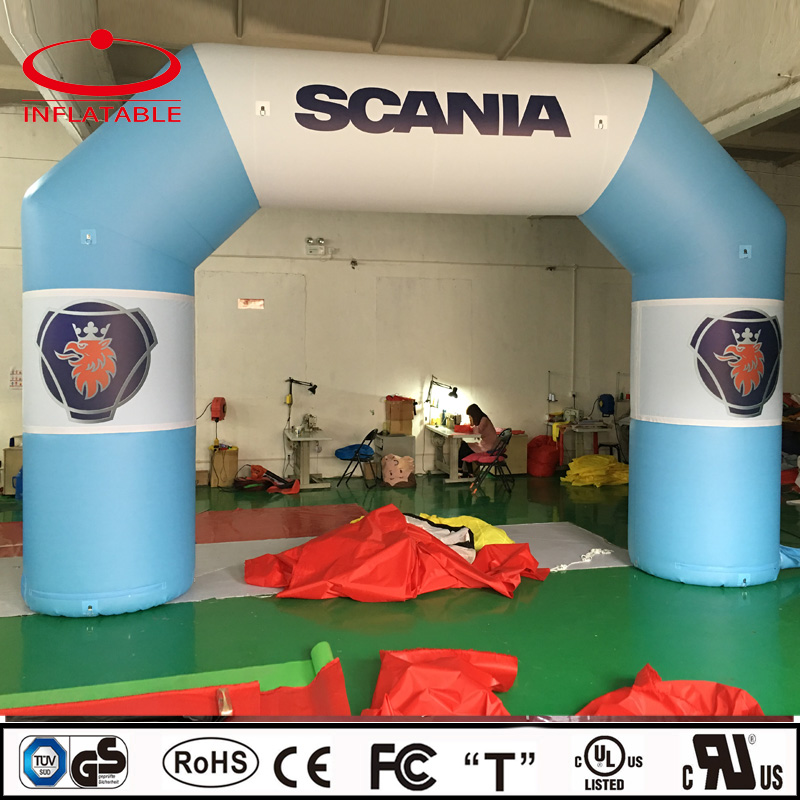best quality inflatable bow shape promotional sport arch for advertising