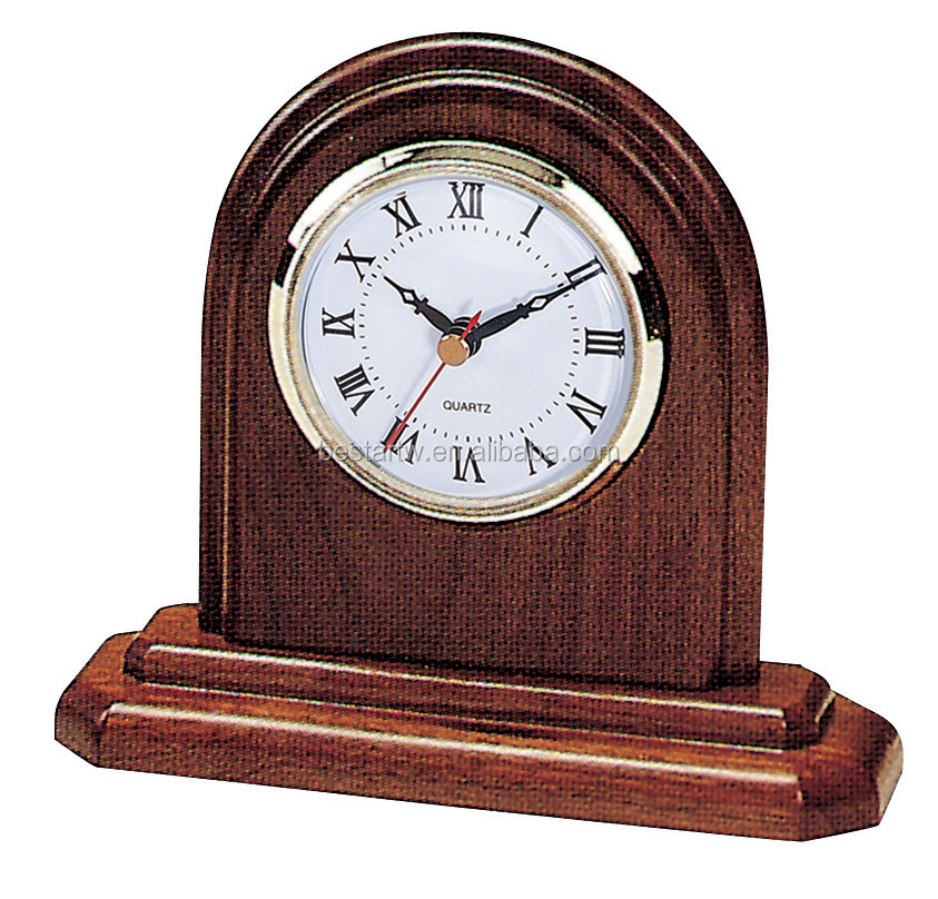 gift item table wooden clock wall wood clock by bestar
