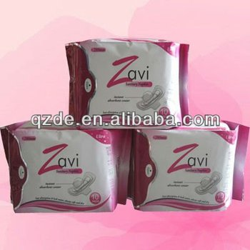 cheapest disposable sanitary napkins, lady napkin, sanitary pad(JHS030)
