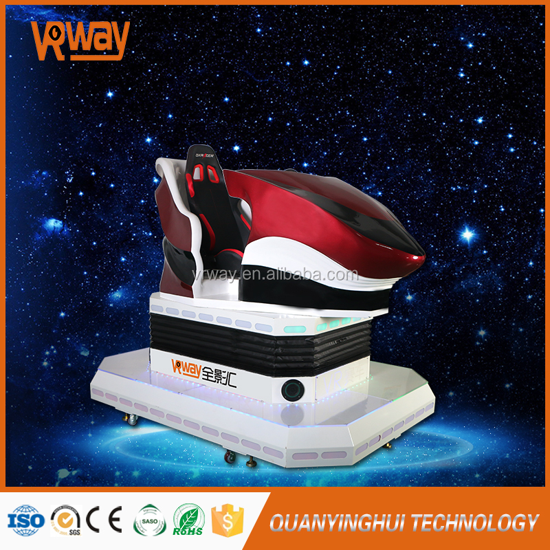 VRway Exclusive Research and Development 4d Electronic Game Machine vr Cinema Simulator Roatation Racing Car