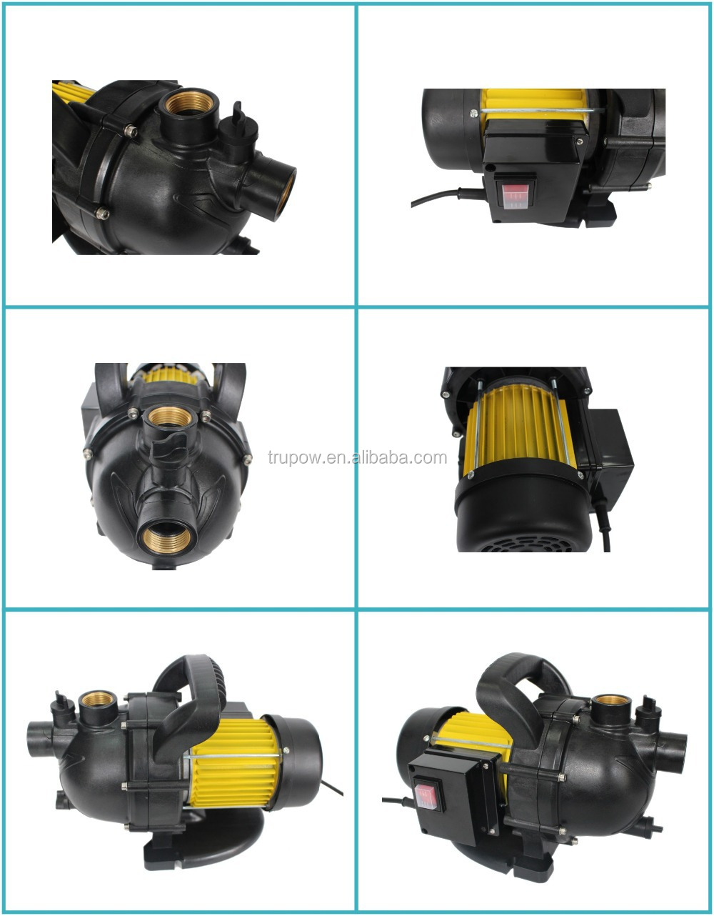 600W Easy Carry Self Priming Garden Water Jet Pump Price