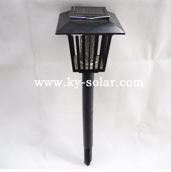 Effective led insect trap solar mosquito killer lantern