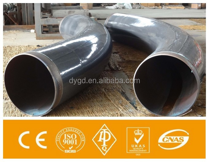 Long Radius 30 45 60 90 Degree Pipe Bend 3D 5D Bends Carbon Steel Bend