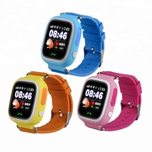 Q90 1.22 inch Screen WIFI SOS Call Location Finder Device Tracker Safe Anti Lost Monitor GPS Kids Smart Watch for Children
