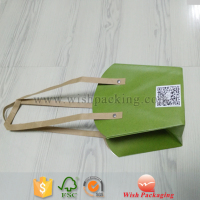Recyclable Flower paper carrier bag