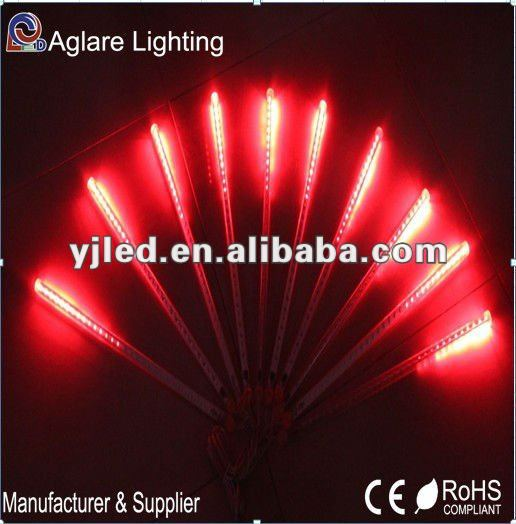 Red Tube 2012 New Christmas Decoration Lights Outdoor