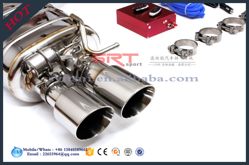 high quality price Exhaust Muffler for lamela tail Pipe for Porsche