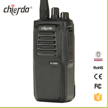 Best price 10km range handheld hotel security dmr digial two way radio