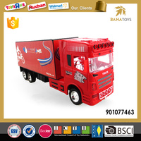 1:32 Plastic child toy friction tanker truck