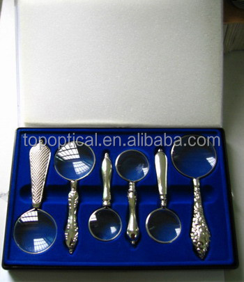 luxury magnifying glass set