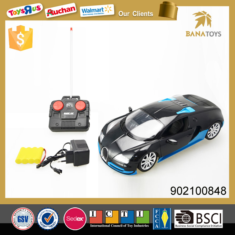Remote control racing model radio control car