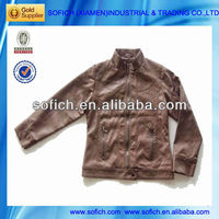 Jacket In Imitation Leather Leather Coats
