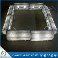 Led Lighted Granite Curbstone Light, Parking Granite Curb Stone Chain Pricing From China