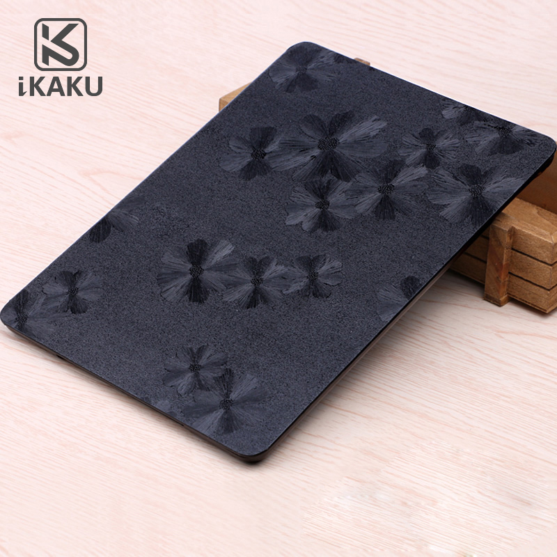 Black KAKU Magnetic smart pu leather case for ipad mini 2 industrial Cute tablet pc cover shell case for ipad air