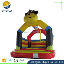 residential mini air inflatable bouncer trampoline