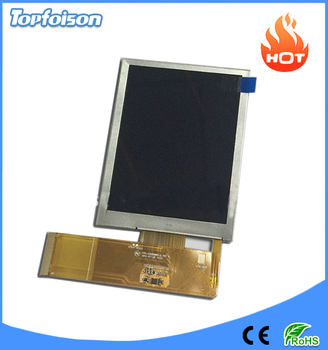 High brightness sunlight readable 3.5 inch lcd module transflective color lcd vga/qvga 640x480