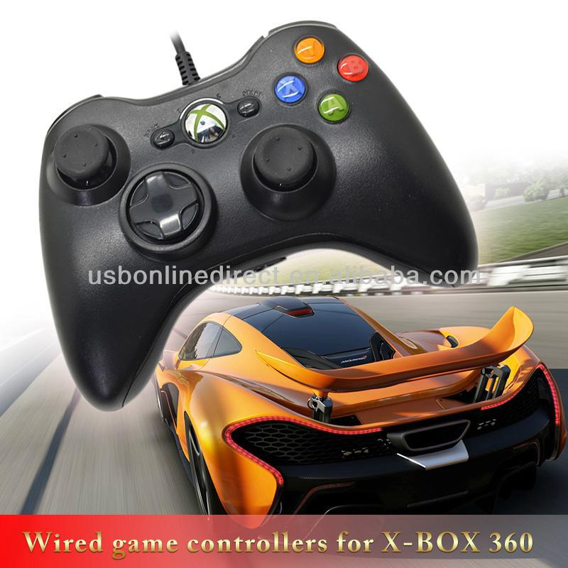 Ergonomical wired usb game controller for laptop ,pc usb gampad for microsoft xbox 360 game