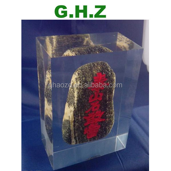 Resin Acrylic Real Insect Paperweight Manufactory