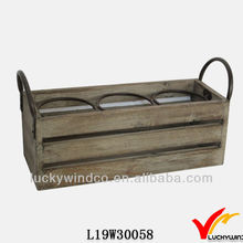 Vintage chic cheap wooden wine crates for sale