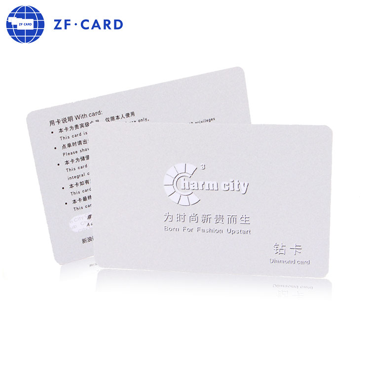 Zf.Card I CODE SLI Rfid Card for Security System