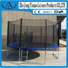 commercial fitness gym equipment fly bed trampoline 10ft - 14 ft size