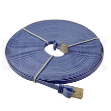 Flat Lan Cable UTP Cat5e Patch Cord Ethernet Jumper Cable