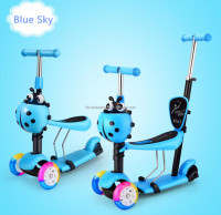 Good quality and cheap price 5 in 1 3 in 1 mini micro kids kick scooter