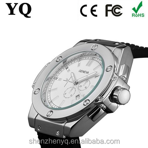 China factory produce mens geneva japan movt quartz watch