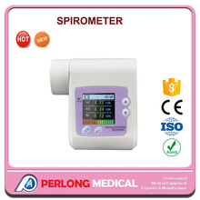 Low price portable portable electronic hand-held spirometer