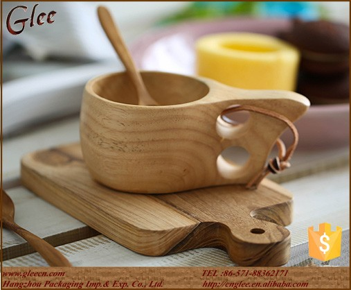 High Quality Tableware Wood Travel Mugs/viking Wooden Mug ...