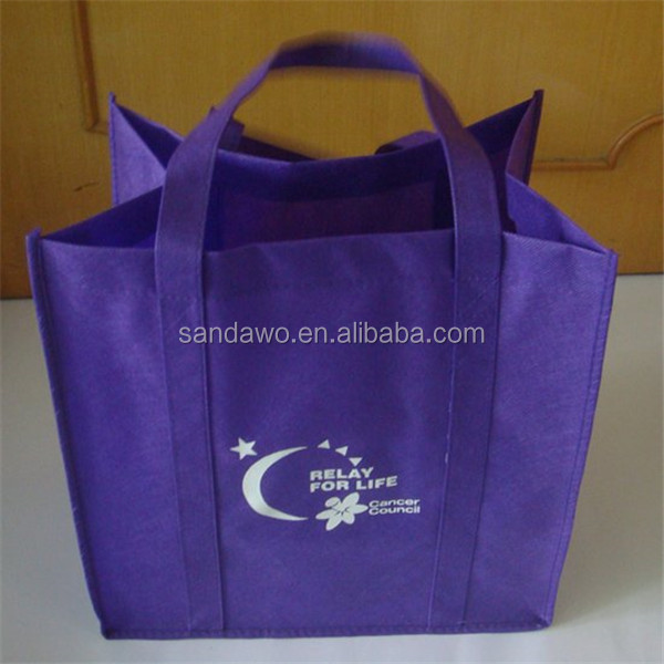 Customized recycle Top large zippered tote bag