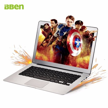 BBEN cheapest slim laptop with 13.3 inch custom laptop i7  8g ram 128g SSD