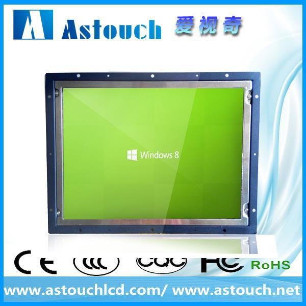 lcd supplier 22'' touch monitor for Industrial Kiosk