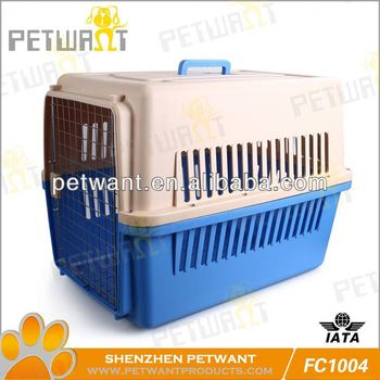 cage de transport chiens FC-1004 Plastic&Aluminium Pet Flight Carrier pet products