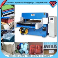 hydraulic four-column die cutting equipment