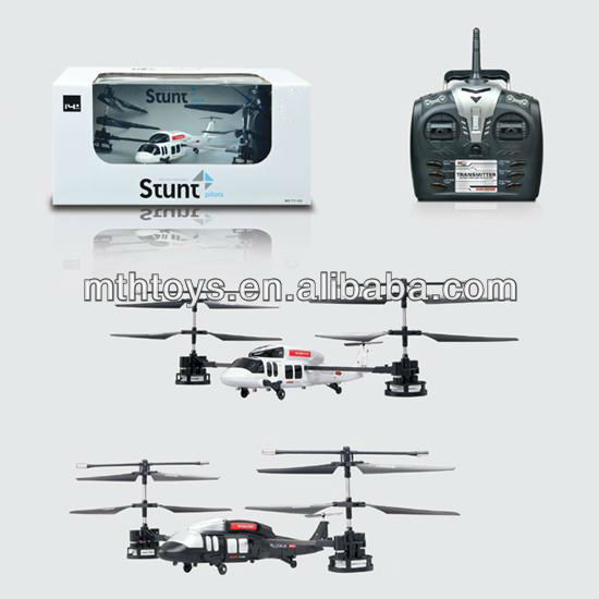 2.4g 4 channel remote control spin helicopter