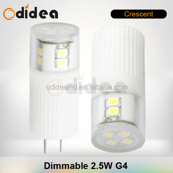 Shenzhen CE ROHS 12V chandelier crystal down light G4 led spot bulb