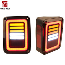 4x4 ABS LED Rear light Tail light Tail lamp for Jeep wrangler JK accessories