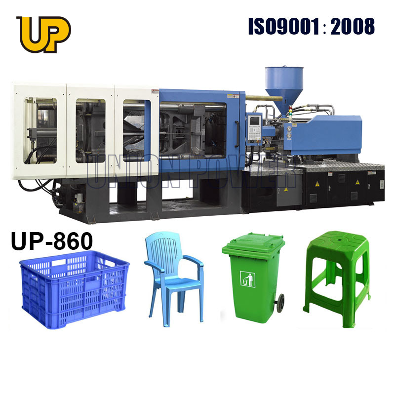 pvc injection moulding machine/plastic recycle dustbin injection machine