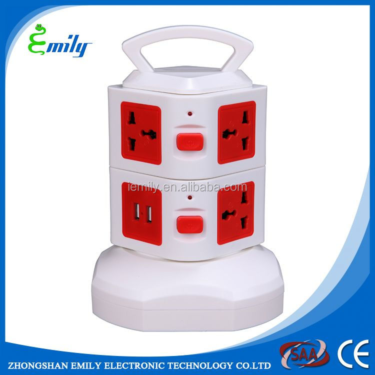Top quality ABS Fireproof plastic 5 pin socket outlet
