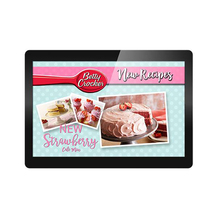 "Commercial Display 24/7 Usage 15.6"" inch tablet pc"