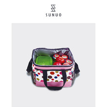 Colorful Hot Selling Ice Lunch Bag For Foods And Fruits Carrying Popular For Girls