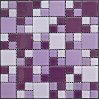 MB1605081 mix size goods in stock purple bathroom floor tiles mosaic
