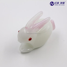 factory in china made rabbit shape crystal ornaments